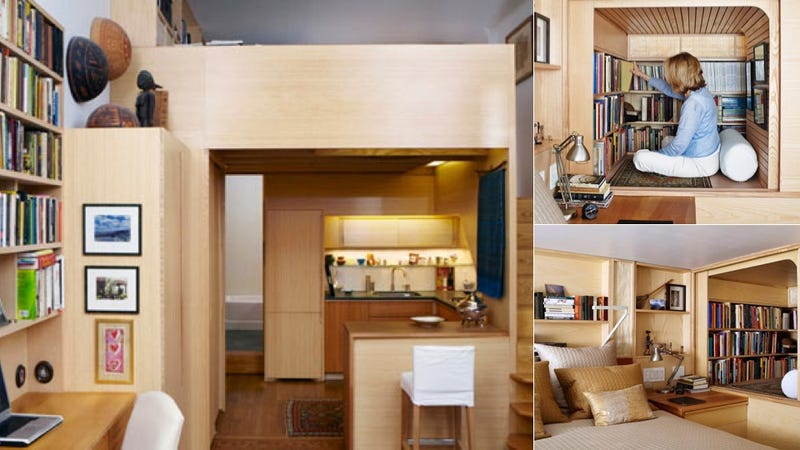 An Amazing 240 Square Foot Apartment Works Like A Magical