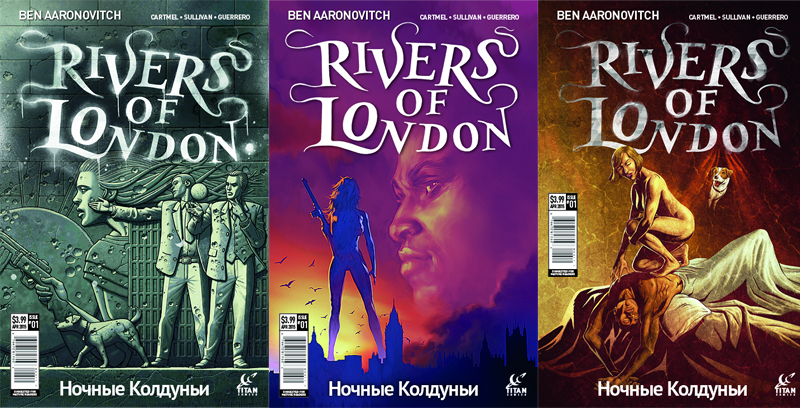 Illustration for article titled First Look at the Next Series of Rivers of LondonComics!