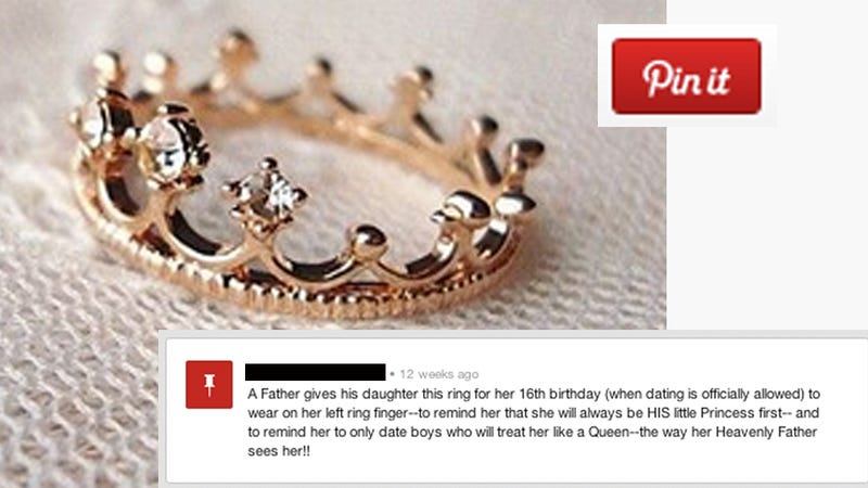 This Revolting Promise Ring Might Be The Worst Pinterest
