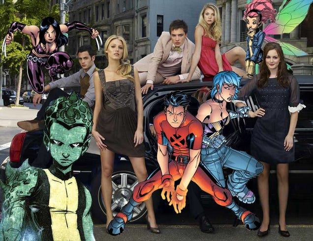 OMFG: Gossip Girl Creator Does X-Men? X Men Girl Creator