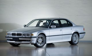 Illustration for article titled Out of the blue my wife texts me that she loves the E38 7-Series and would love one in manual.