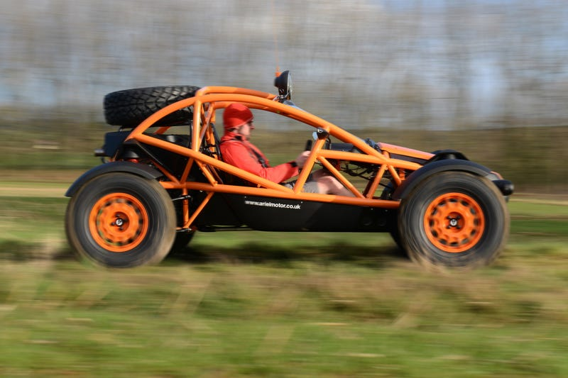 Illustration for article titled I'd like to see what the Ariel Nomad would look like if it became a CUV.