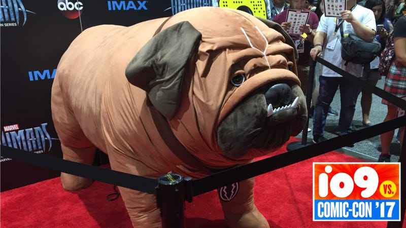 Illustration for article titled Marvel's Giant Plush Lockjaw Is Way Cuter Than the Inhumans TV Lockjaw