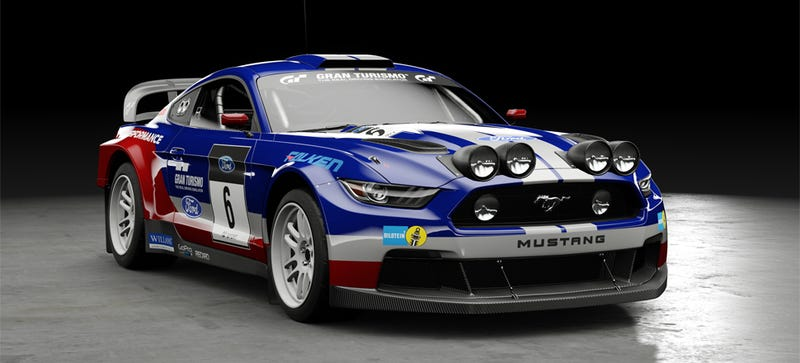 Group B Rally Mustang, as drivable in Gran Turismo Sport (Image: Sony)