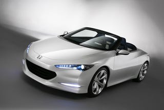 Illustration for article titled Honda Unveils Low-Emission OSM Roadster, Possible New Design Direction