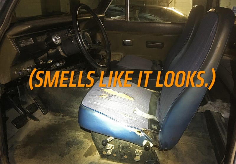 If you've ever been in a greasy old car, you know exactly what