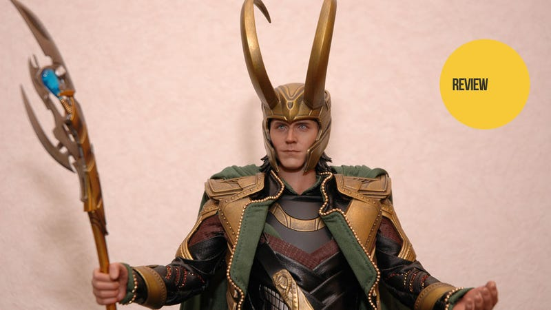 Illustration for article titled This Loki Figure Made Me Appreciate The Avengers Costume Designers