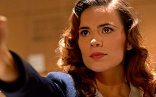 """Illustration for article titled Hayley Atwell's back in action in Marvel's newest short """"Agent Carter"""""""