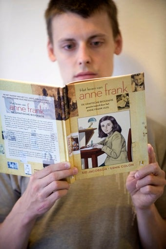 Illustration for article titled Anne Frank's Story Published As Graphic Novel