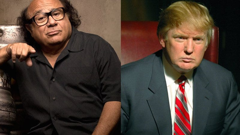 Illustration for article titled Donald Trump or It's Always Sunny's Frank Reynolds—who said it?