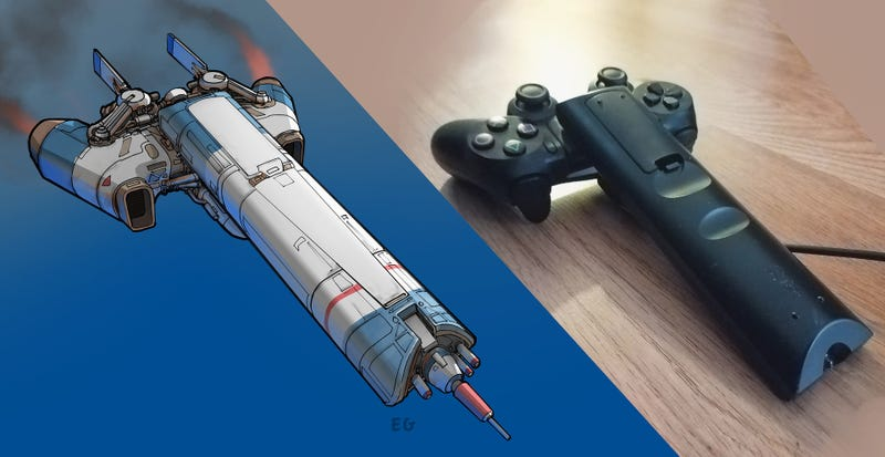 Artist Turns Household Objects Into Cool Spaceships