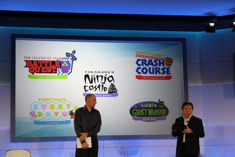 Illustration for article titled We're Live at Nintendo's Wii U Hardware Conference