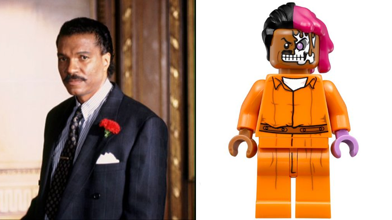 Illustration for article titled Lego Batman Movie Cements Position As Best DC Movie of 2017 By Confirming Billy Dee Williams As Two-Face