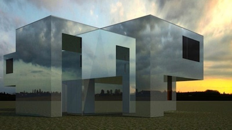 These incredible reflective buildings look almost invisible - Arquitectura invisible ...