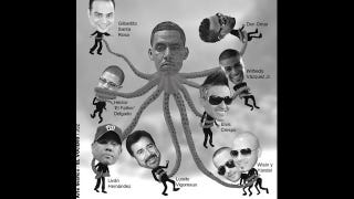 Illustration for article titled Livan Hernandez Is Wrapped Up In Puerto Rican Drug Dealer's Octopus Tentacles, Claims Awesome Graphic