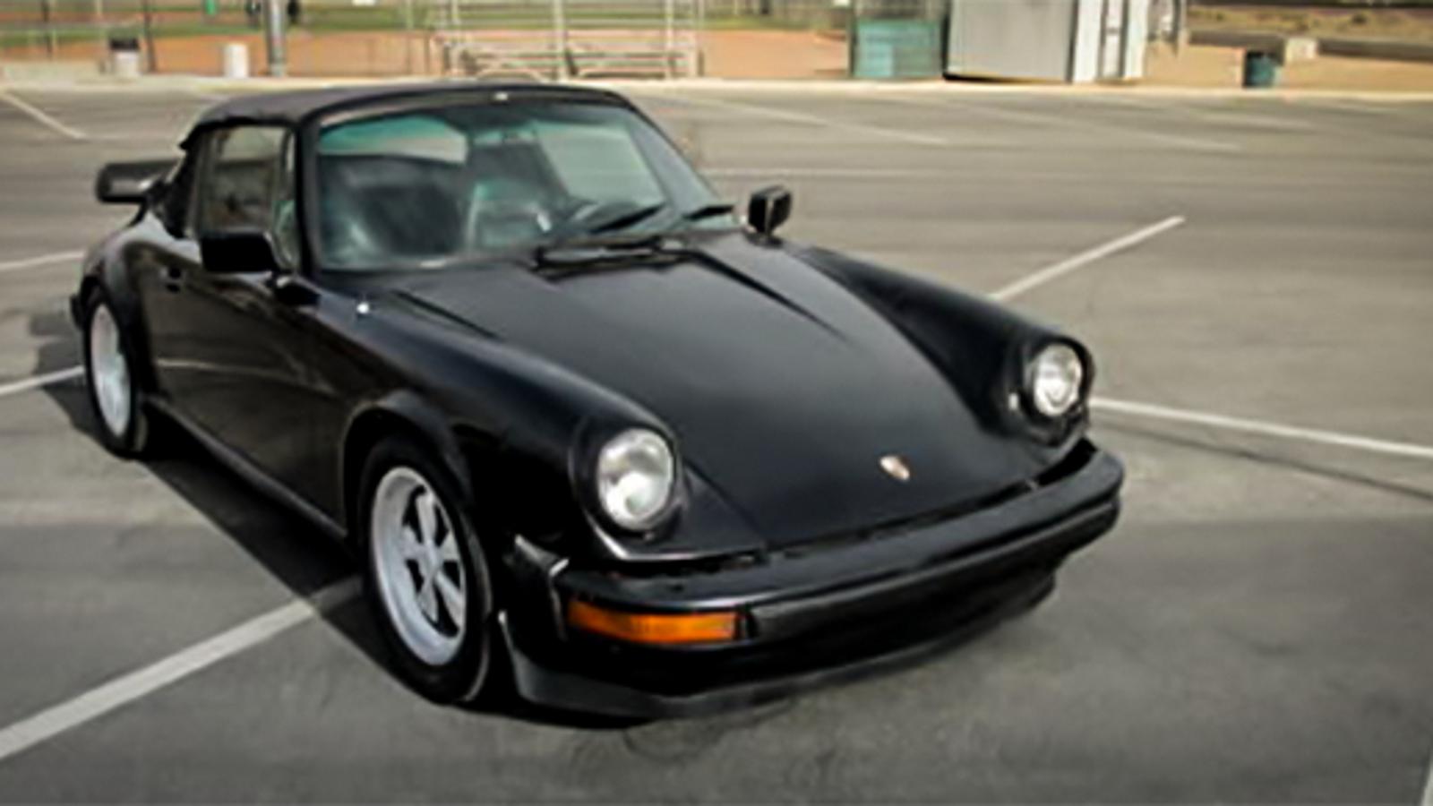 This Crazy Cheap Vintage Porsche 911 Convertible May Be