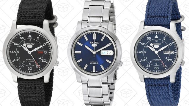 Your Favorite Affordable Men's Watch: Seiko 5 Series