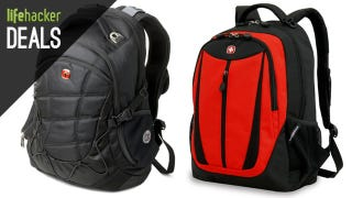 Illustration for article titled SwissGear Laptop Bags, $50 Off iPad Air, Windows 8.1 License [Deals]