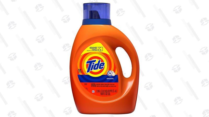 Tide HE Original Scent 64 Loads   $9   Amazon   Clip the $3 coupon