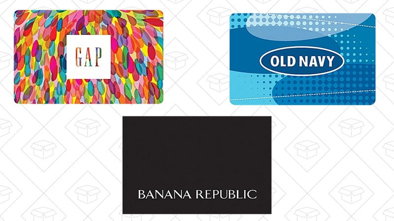 GAP, Banana Republic, and Old Navy from Staples