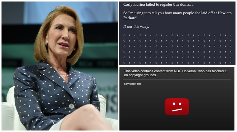Illustration for article titled Carly Fiorina Is Almost as Bad at the Internet as She Was at Running HP