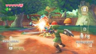 Illustration for article titled First Zelda: Skyward Sword Screenshots
