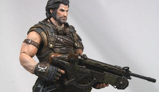Illustration for article titled Bulletstorm's Action Figure Gets The Boots Right