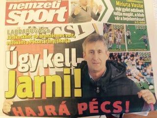 Illustration for article titled A Nemzeti Sport szóviccben nem ismer tréfát