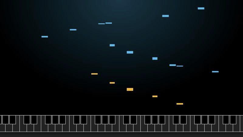 Screenshot: A.I. Duet