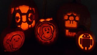 Illustration for article titled Check out these geeky jack-o-lantern templates and submit your own