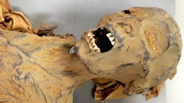 How Did This  Screaming Mummy  Really Die?