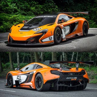 Illustration for article titled McLaren 650S GT3 unveiled