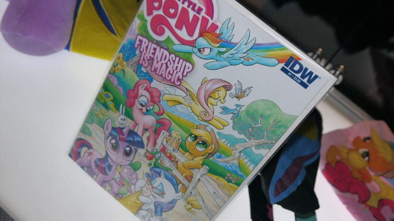 Illustration for article titled My Little Pony, Comic-Con Ponies