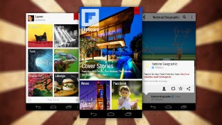 Illustration for article titled Flipboard Officially Arrives for Android, Offers Magazine-Style News Reading to All