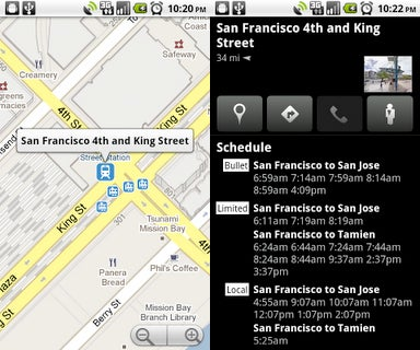 Illustration for article titled Google Maps for Android Ensures You Never Miss a Train Again