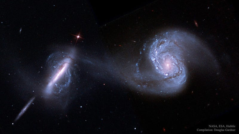 Image Credit: NASA, ESA, Hubble Space Telescope; Processing: Douglas Gardner