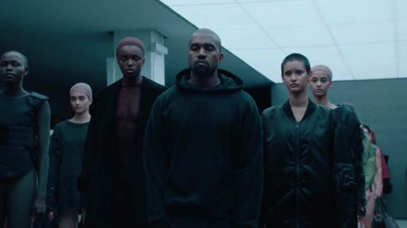 Illustration for article titled Kanye West wants to be the Steve Jobs of The Gap, is sorry that his opinions offend you