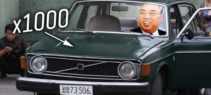 Illustration for article titled North Korea Still Owes $393,000,000 For Volvos It Bought In 1974