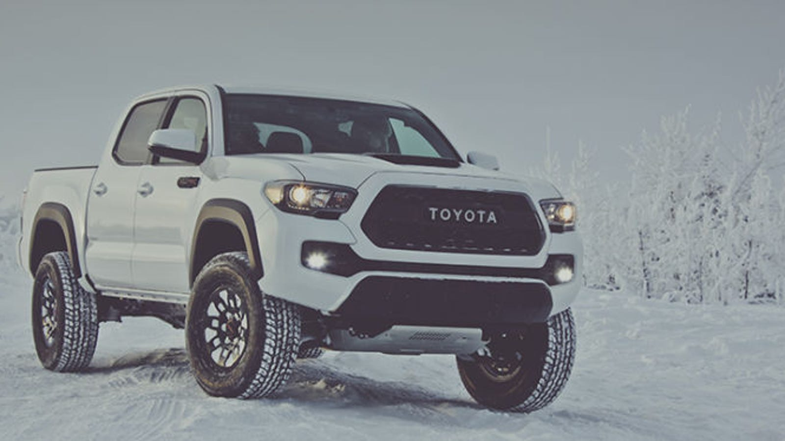 The 2017 Toyota Tacoma Trd Pros 41700 Msrp Is Tough To Justify Long Bed Fuel Hostage Wheels