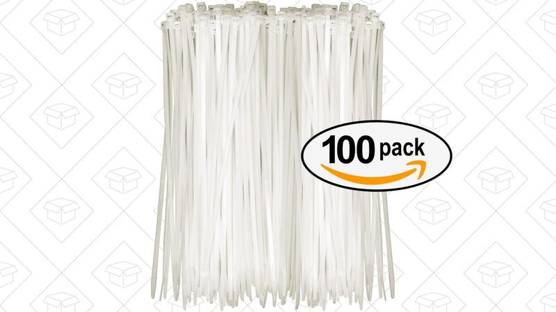 Illustration for article titled Stock Up On Zip Ties With This $4 Pack Of 100