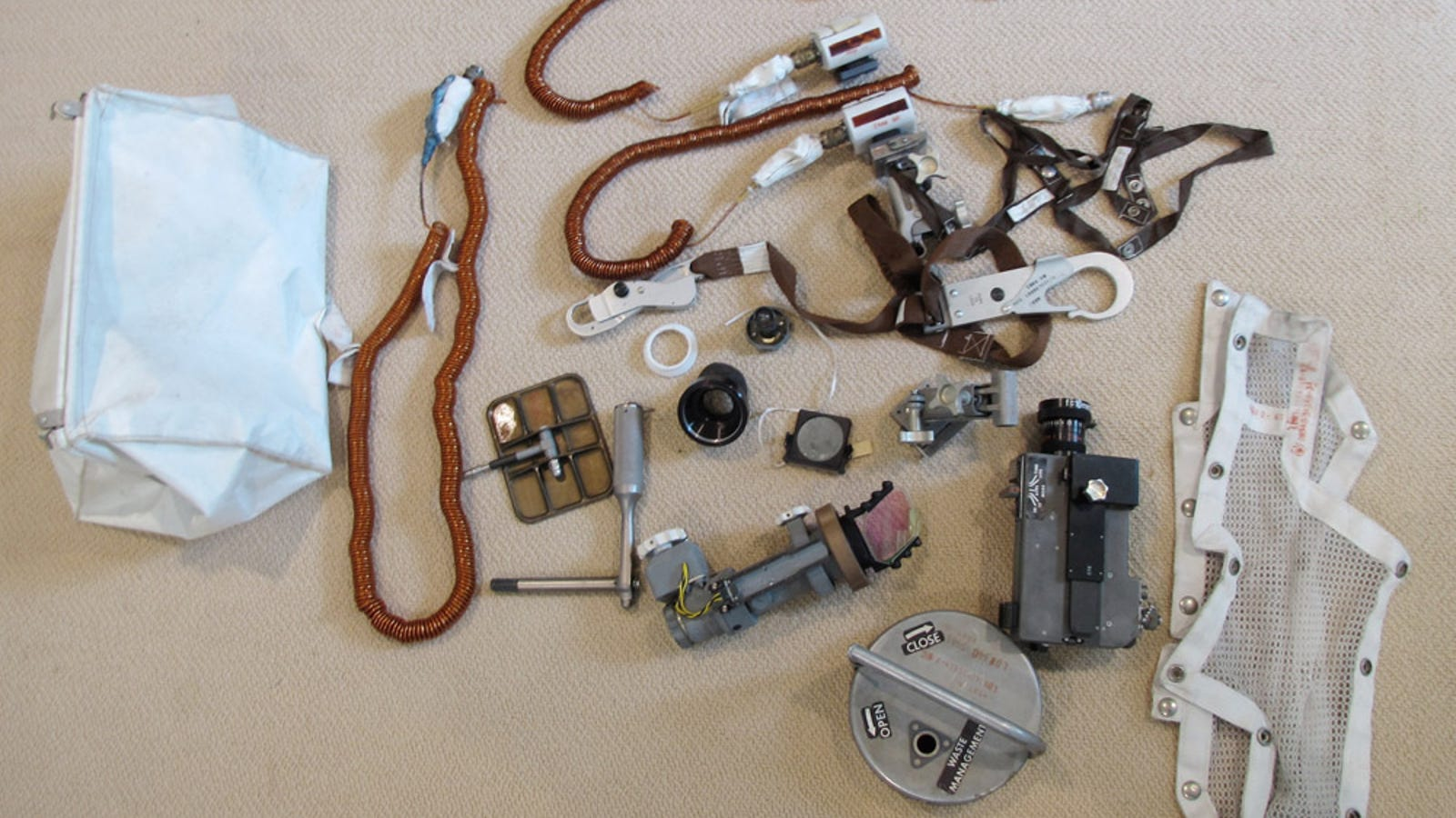 Secret stash of Moon artifacts found hidden in Neil Armstrong's closet