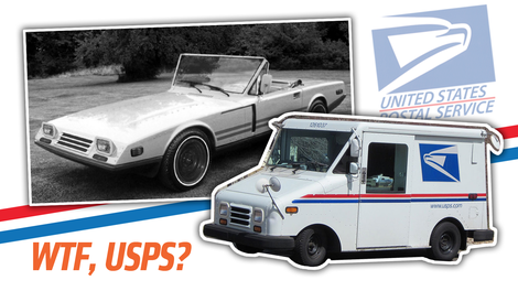 I Can T Believe There Was Almost A Mail Truck Based Sports Car