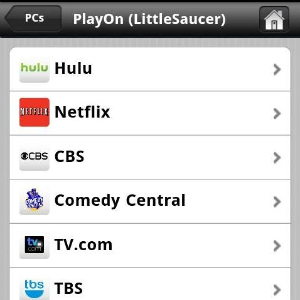 Illustration for article titled PlayOn Streams Netflix, Hulu, and Other Web Video to Android