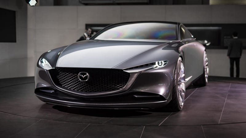 Great Two Years Ago, Mazda Unveiled The RX Vision Concept At The 2015 Tokyo Motor  Show. It Was The First Big Unveil That Year And Got Everyone Excited At The  ...