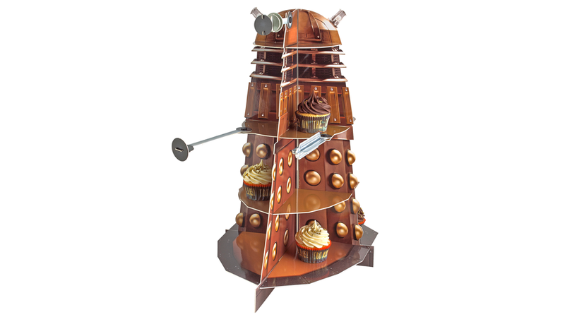 Illustration for article titled Dalek Cake Stand? Dalek Cake Stand.