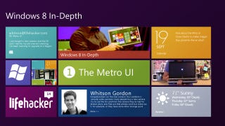 Illustration for article titled Windows 8 In-Depth, Part 1: The Metro UI