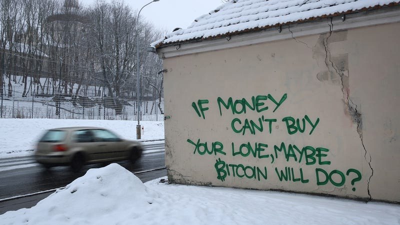 Graffiti in Vilnius, Lithuania