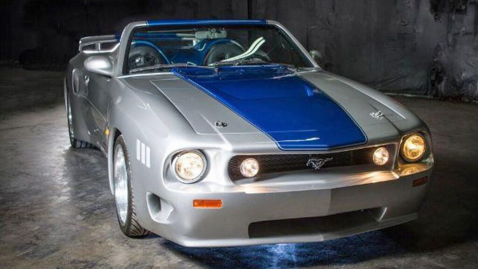 At 18 999 Will This Custom 1989 Ford Mustang Boss 5 0