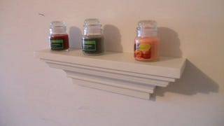 Illustration for article titled Make a DIY Wall Shelf Using Crown Molding
