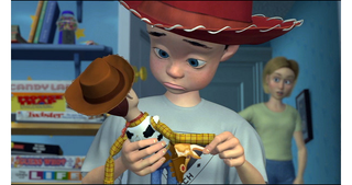 Illustration for article titled A Bonkers Theory on The True Identity of Andy's Mom In Toy Story